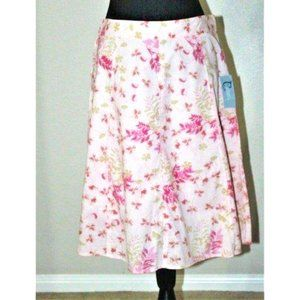 NEW CLASSIC ELEMENTS floral skirt 8